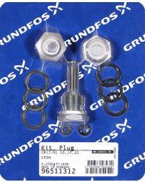 Grundfos Ersatzteil Kit Stopfen für CRI/CRN 10/15/20 - 96511312