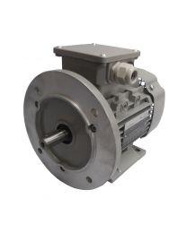 Drehstrommotor 0,55 kW - 1500 U/min - B3B5 - 230/400V