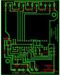 E2000Plus A/D IN 4FACH V2.0 Elektronik2000 SPS Logik Leiterplatte