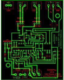 E2000Plus LED-Dimmer 2FACH V2.0 Elektronik2000 SPS Logik Leiterplatte