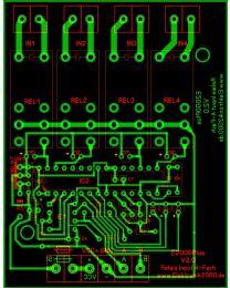 E2000Plus Relais IN 4FACH V2.0 Elektronik2000 SPS Logik Leiterplatte