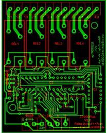 E2000Plus Relais OUT 4FACH V2.0 Elektronik2000 SPS Logik Leiterplatte