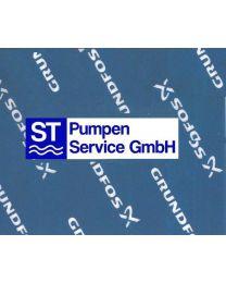 Grundfos Druckventil PVDF, FKM Dichtung für Dosierpumpen - 95730330