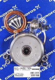 Grundfos Ersatzteil Kit Verschleißteile Laufrad für SPK8 1 - 395093