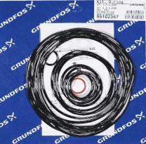 Grundfos Ersatzteil Kit O-Ringe für SE1/SEV 2- und 4-polig bis 3 kW - 96102367