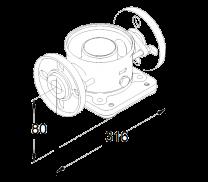 Grundfos FlexiClamp DIN Flansch DN40 Viton - für CRI/CRN 10/15/20 - 96500264