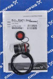 Grundfos Kit Gleitringdichtung für TP - 12mm GQQE - 98284961