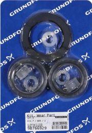 Grundfos Ersatzteil Kit Verschleißteile D12,7 NBR 5 St. für SP7/SP9 - 98766929
