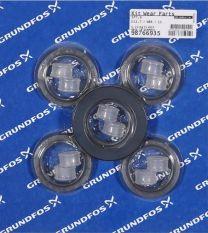 Grundfos Ersatzteil Kit Verschleißteile D12,7 NBR für SP7/SP9 - 98766935