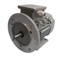 Drehstrommotor 0,37 kW - 1500 U/min - B3B5 - 230/400V