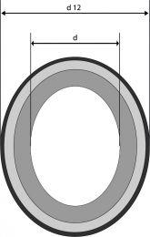 Mechanical Seal - ST - G4 - SIC/EPDM - Gegenring für Gleitringdichtungen